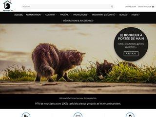 Accessoires pour le confort, l'hygiène et le bien-être des chats