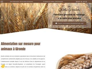 Alimentation chevaux à Gironde