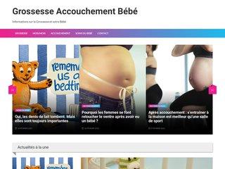 Site d'informations sur la grossesse, l'accouchement et le bébé