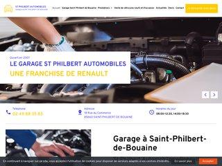 Garage St Philbert Automobiles pour réparer votre voiture