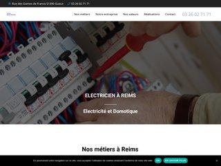 Entreprise d'électricité à Reims