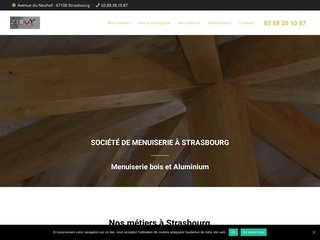 Entreprise de menuiserie à Strasbourg