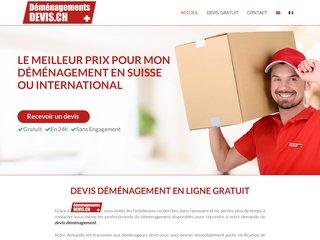 Devis Déménagement Genève - Suisse