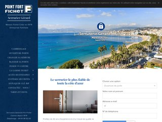 Serrurier à Cannes