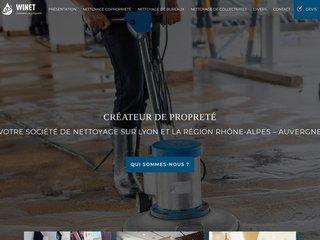Winet : Entreprise de nettoyage à Lyon