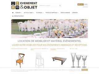 Location de matériel et équipements pour un événement