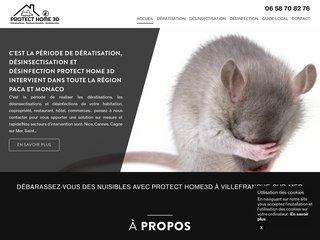 Protect Home 3D : expert en dératisation et désinsectification Nice