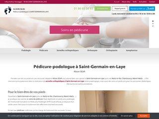 Pédicure podologue pour affections du pied à Saint-Germain-en-Laye