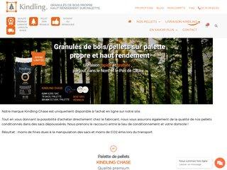 Boutique en ligne de vente des granulés de bois propres et naturels
