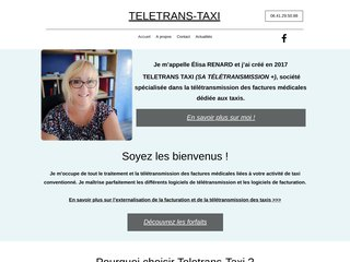 Télétransmission + : Facturation taxi conventionné