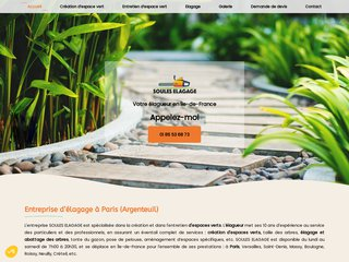 Création d'espaces verts  à Argenteuil
