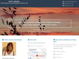 Cathy Jarguel, psychologue à Mudaison, près Montpellier