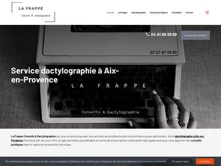 société de service en dactylographie à Aix-en-Provence