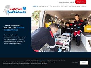 Spécialiste du transport médico-sanitaire à Dour