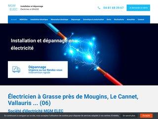 MGM ELEC, installeur de domotique sur Grasse, Mougins, Le Cannet