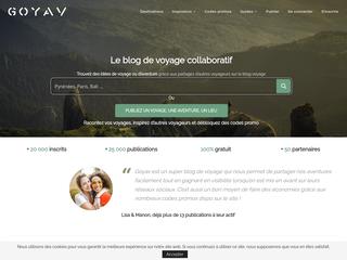 Goyav, le blog de voyage collaboratif