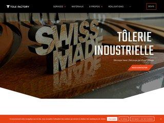 Entreprise de Tôlerie Industrielle en Suisse