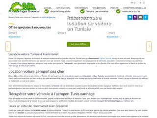 Location de voiture Tunisie prix abordable