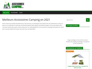 Comparatif des meilleurs accessoires de camping en 2021