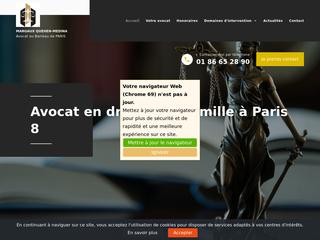 Avocat compétent en droit de la famille à Paris 8