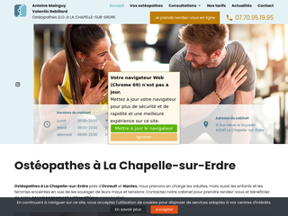 Ostéopathes Rebillard-Mainguy