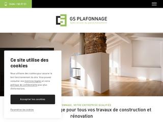 Gs plafonnage : entreprise de rénovation à Marcinelle