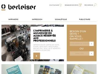 Imprimerie Berleiser à Mulhouse