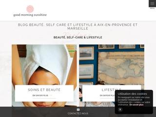 Good Morning Sunshine : blog beauté, santé et bien-être