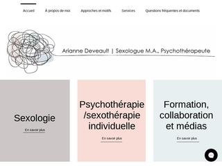 Arianne Deveault | Sexologue et Psychothérapeute Laval