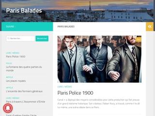 Paris Balades, l'histoire de Paris en marchant