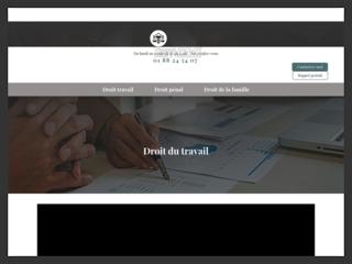 Avocat en droit pénal, du travail et de la famille à Versailles