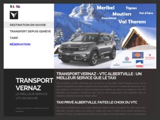 Vernaz : service VTC depuis Albertville