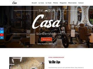 Le barber lyonnais traditionnel ; Casa Barbershop Lyon