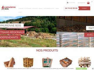 Vente en ligne de bois de chauffage: Lamurienne bois