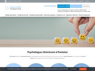 Votre psychologue clinicienne à Pontoise