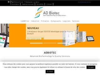 Entreprise de biotechnologies : Adbiotec