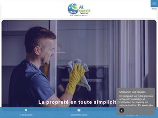 At Propreté Services pour le nettoyage des bureaux en Gironde