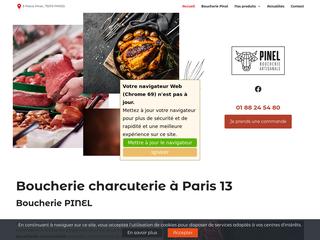Boucherie Pinel: pour acheter vos charcuteries