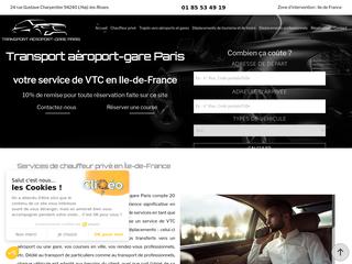 Chauffeur VTC en Île-de-France