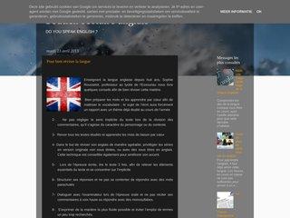 Blog cours particulier anglais