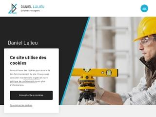 Daniel LALIEU, votre géomètre expert