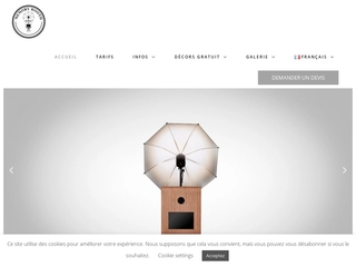 Memory Booth, portail web de votre service de location Photobooth