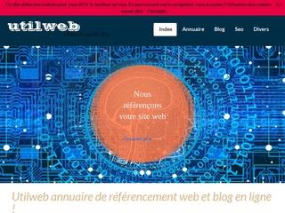 Utilweb est un annuaire internet et un blog en ligne.
