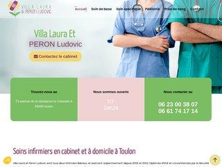 Cabinet d'infirmier à Toulon, Villa Laura et Peron Ludovic