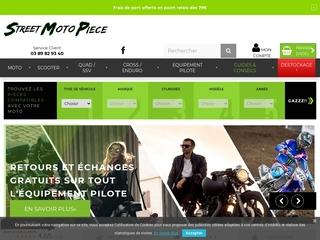 Street Moto Piece, spécialiste des pièces et accessoires pour moto