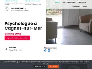 psychologue à Cagnes-sur-Mer