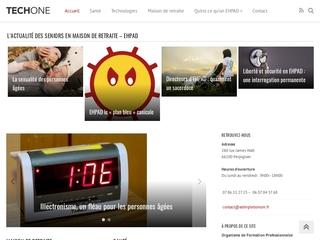 TECHONE, portail d'information sur la santé des seniors
