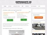Imprimante 3D : guide d'achat, prix et bons plans