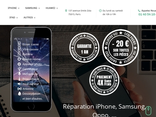 Réparation iPhone Paris
