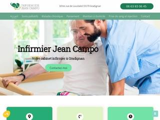 Cabinet infirmier en Gironde, Jean Compo